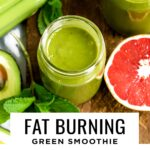 Fat burning smoothie to naturally boost your metabolism.