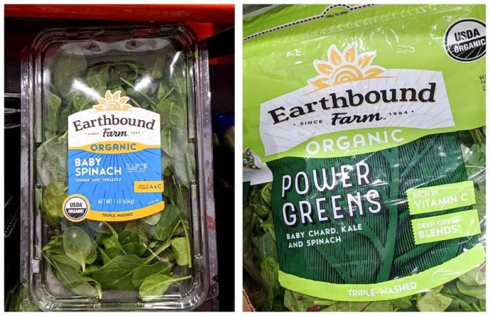 leafy greens for prepping smoothies