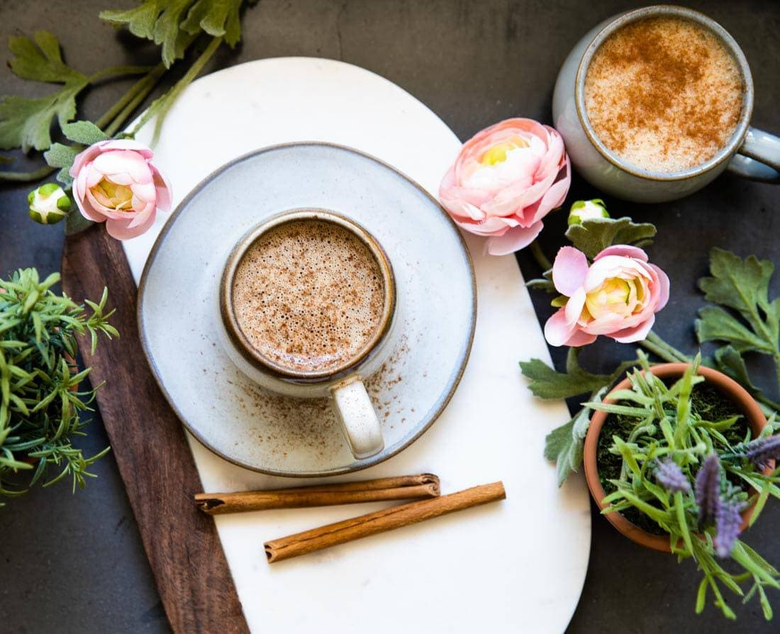 Quick and easy Cinnamon Dolce Latte recipe