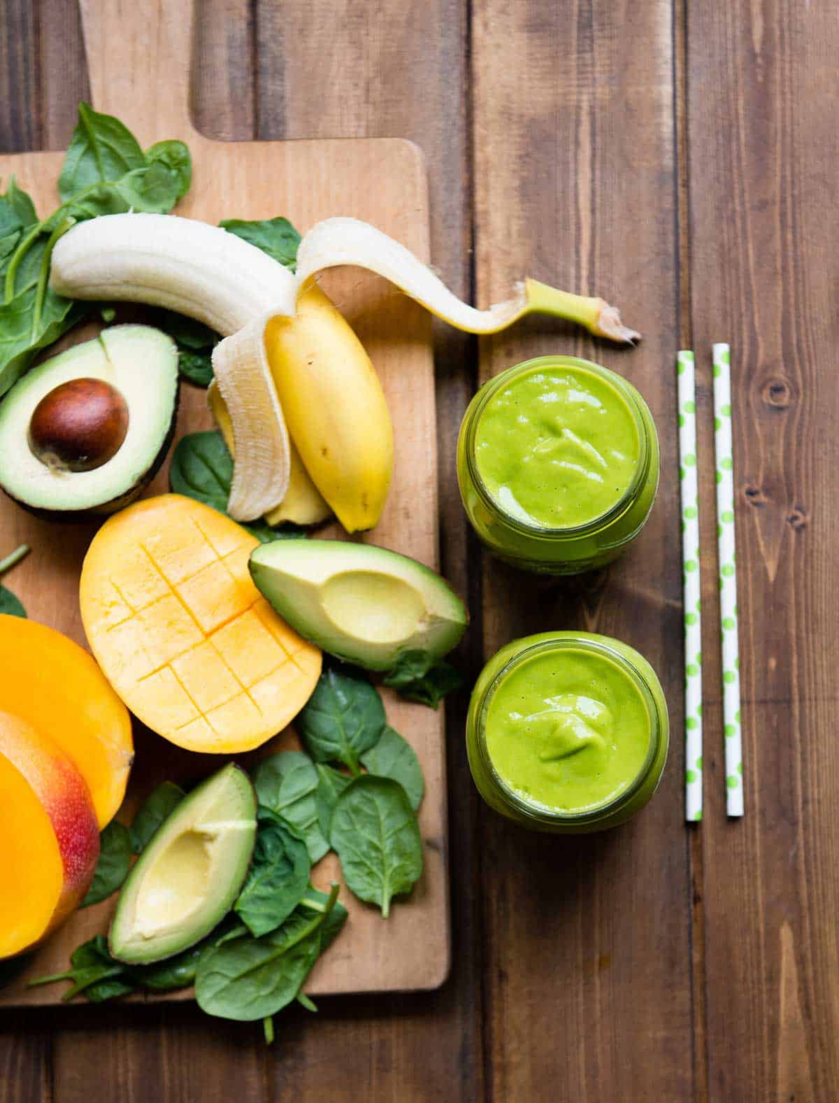 Rich and creamy green smoothie recipe