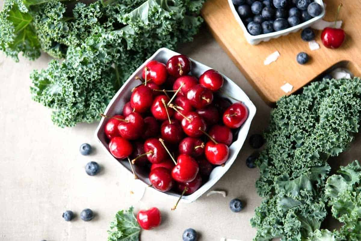 cherries are incredibly delicious + nutritious