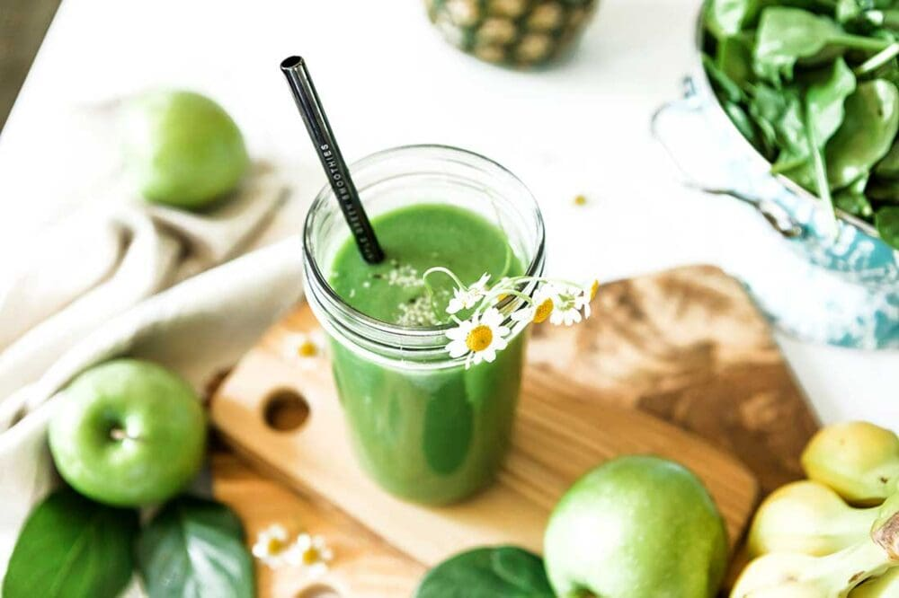 healthy apple smoothie recipe