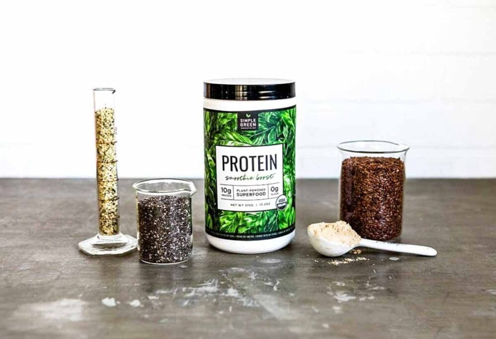 Organic protein powder ingredients