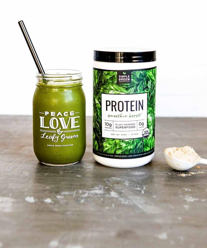Protein Smoothie Boost from Simple Green Smoothies
