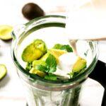 avocado blended