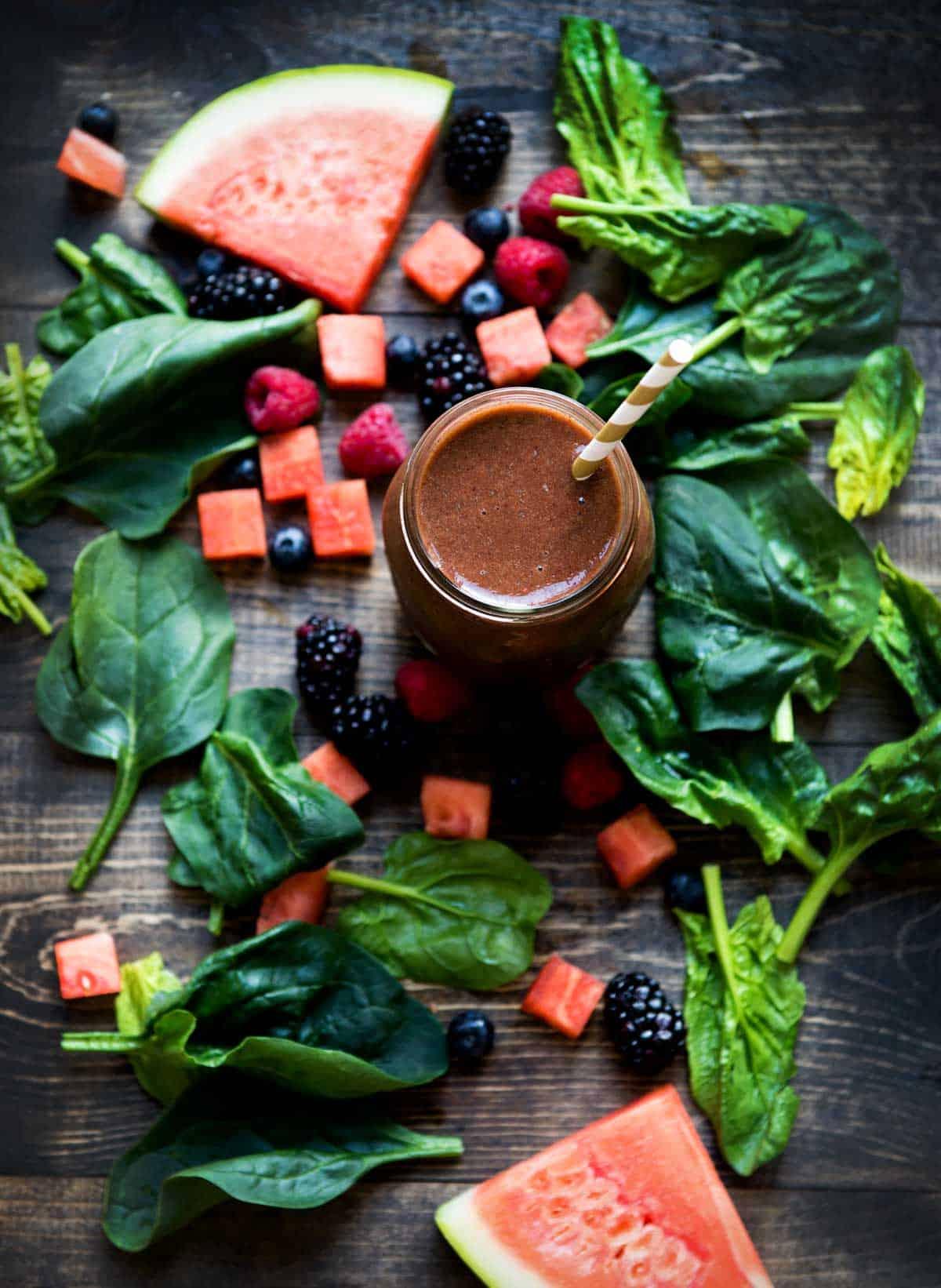 summer melon smoothie recipe