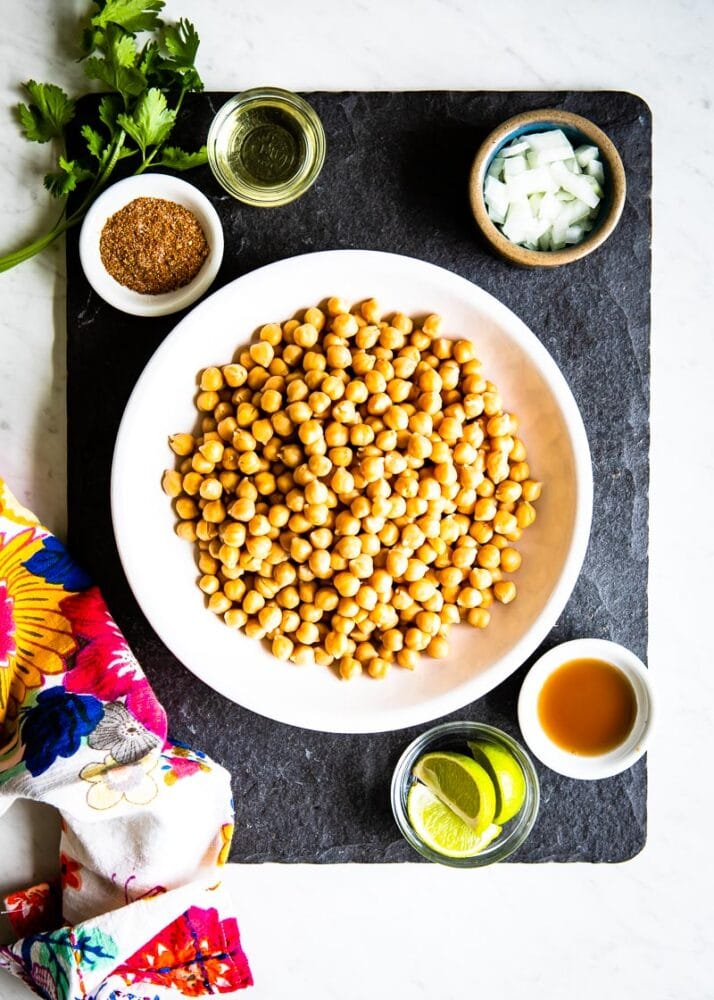 garbanzo beans are the same as chickpeas in this recipe