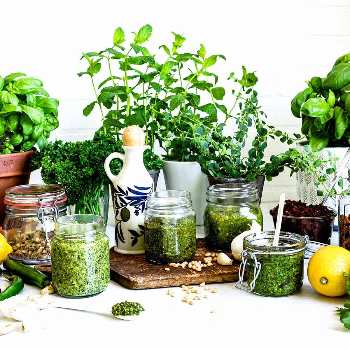 vegan pesto recipes