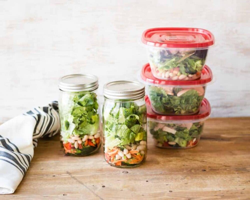 leftovers make great healthy snacks for work