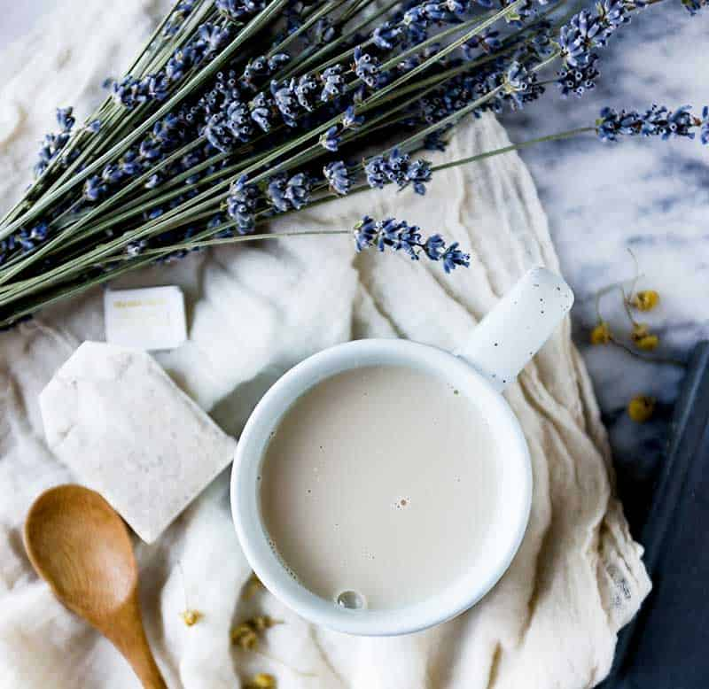 Sleep tea recipe with natural herbs