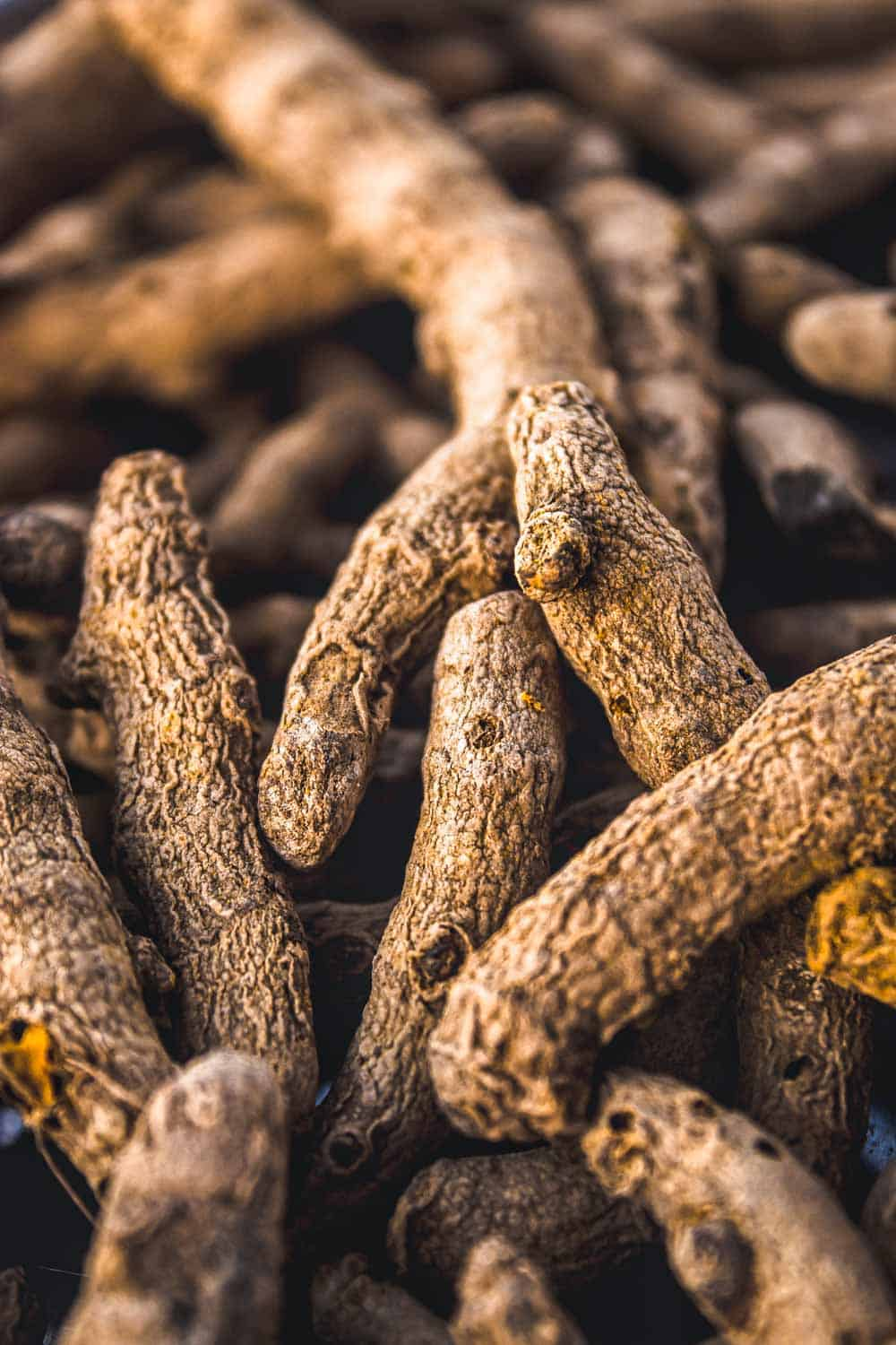 a pile of turmeric, a root used to help fight inflammation