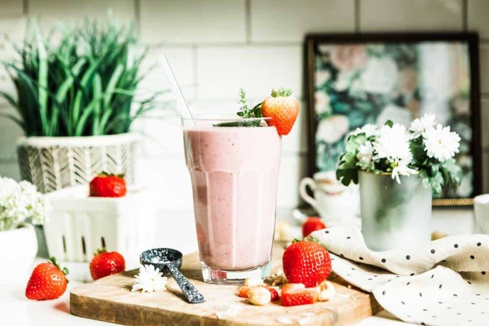 strawberry smothie recipe