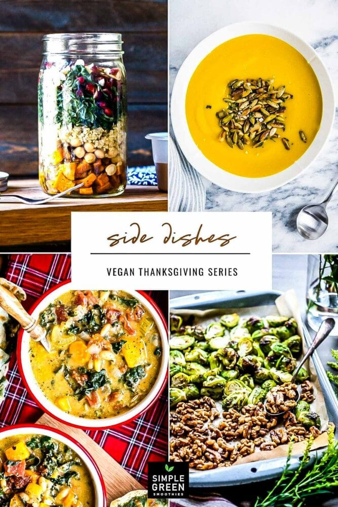 A festive lineup of vegan Thanksgiving side dishes
