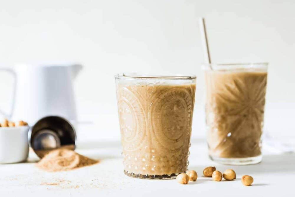 caramel protein shake