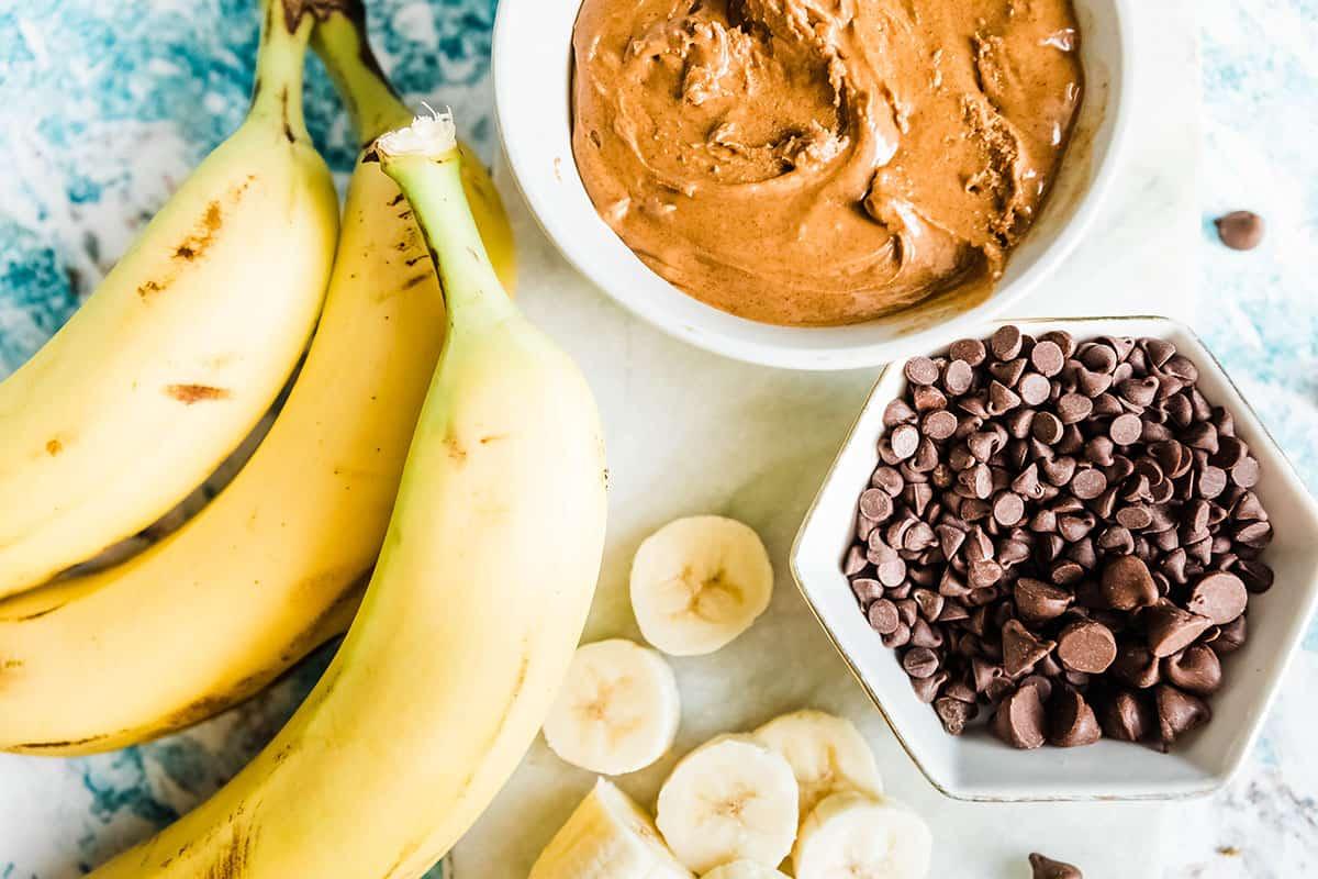 ingredients for banana bites