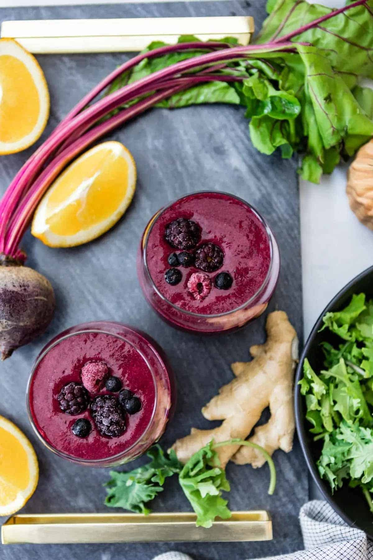 a smoothie to fight inflammation