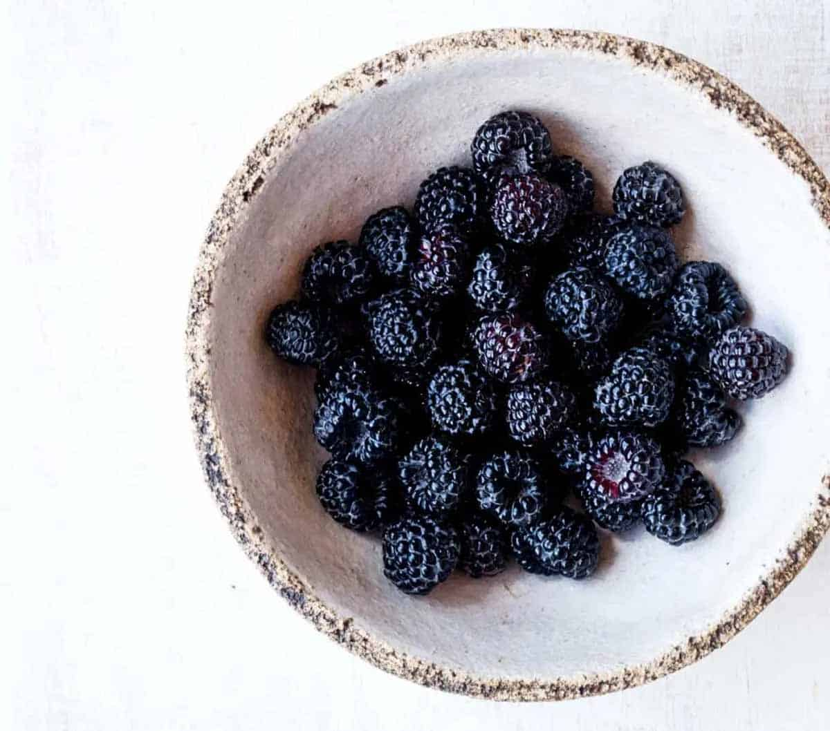 both fresh and frozen berries are great