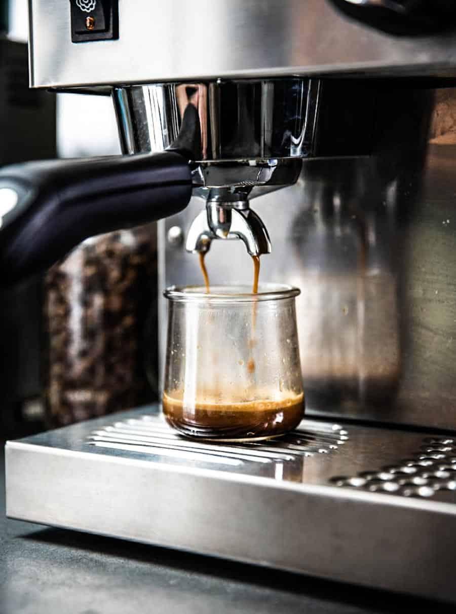 espresso shots for latte recipe