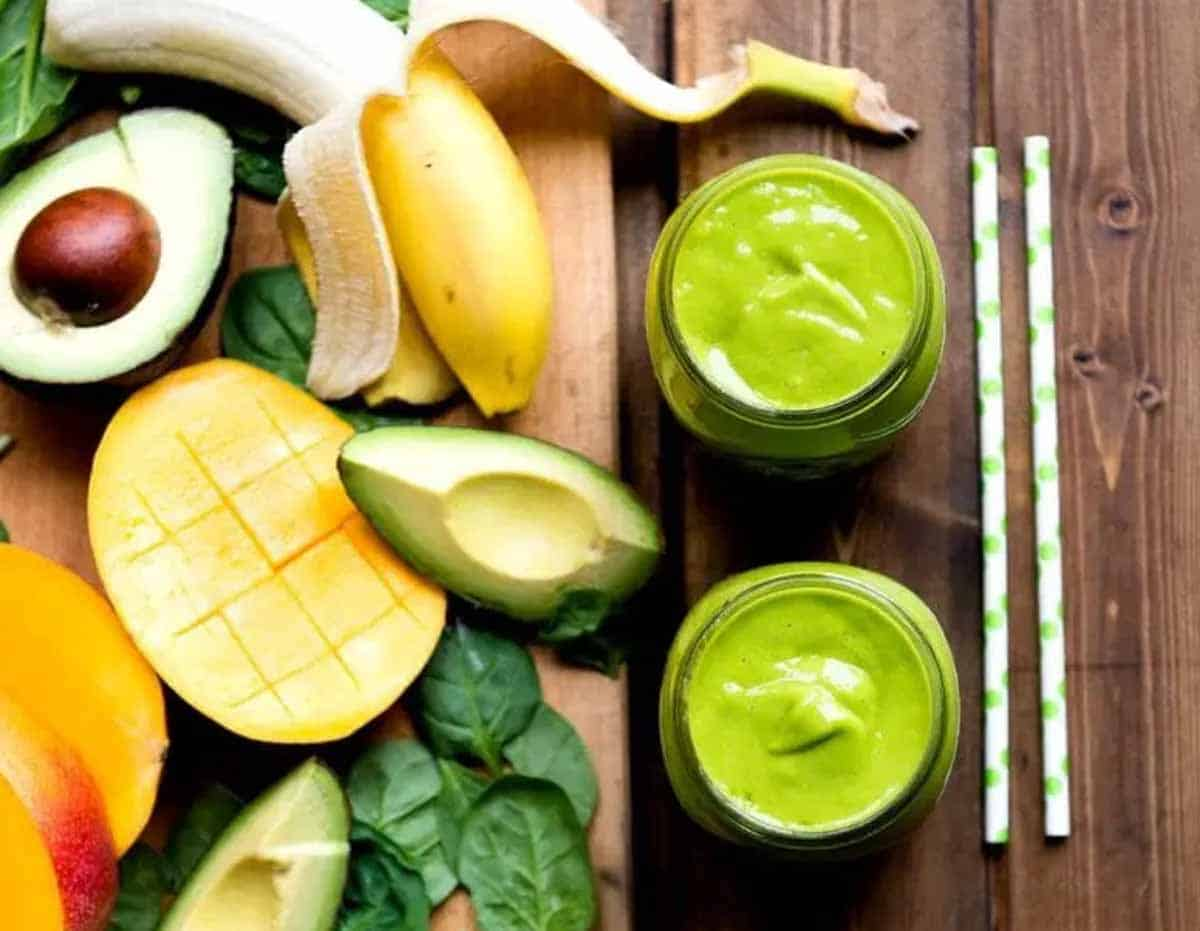 bananas and avocados make creamy smoothies