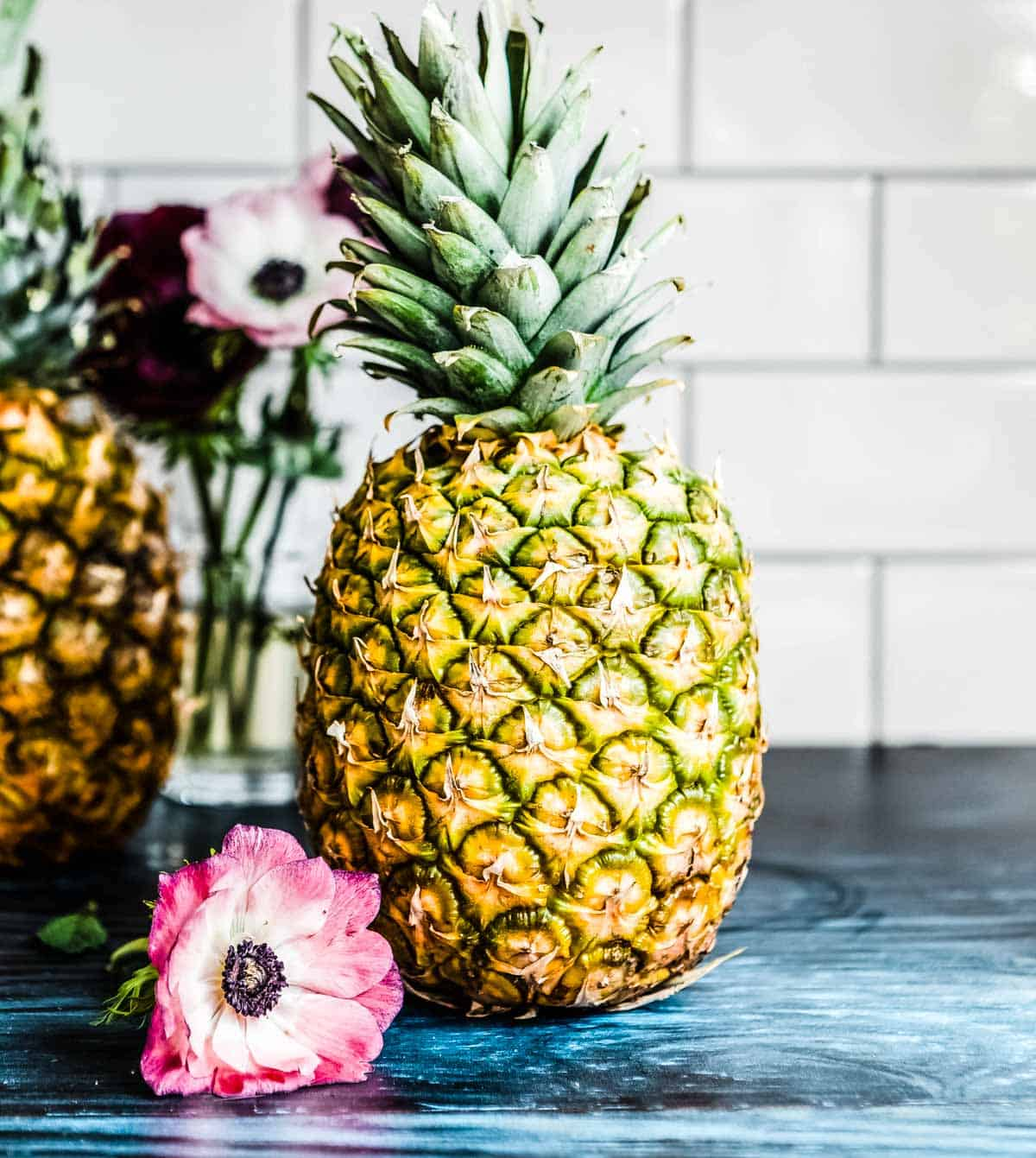 pineapples are rich in vitamin C