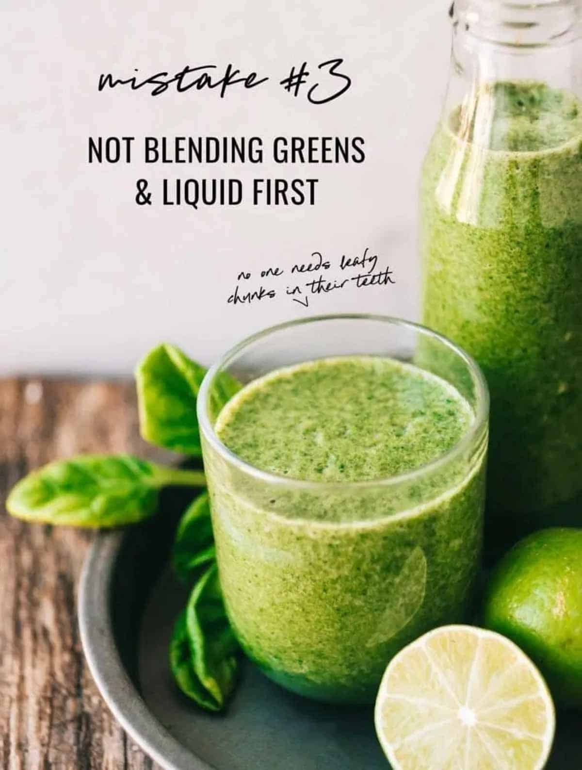 smoothie formula + smoothie tips