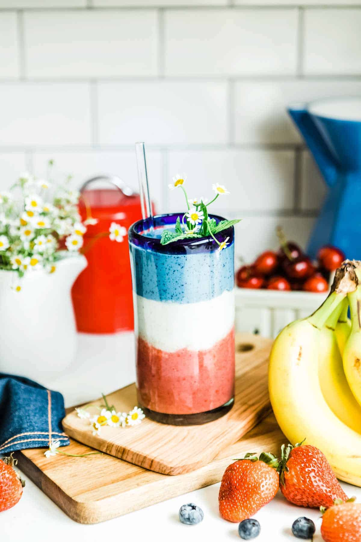 layered smoothie recipe