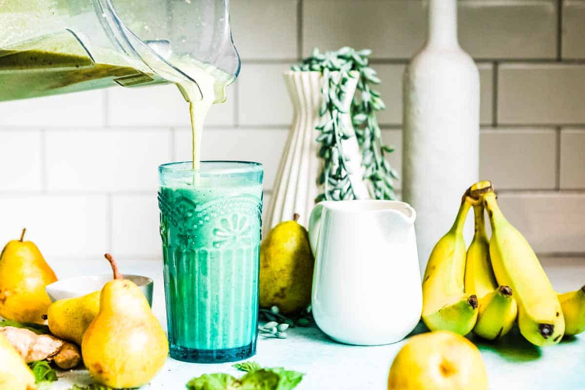 soothing smoothie for heartburn relief